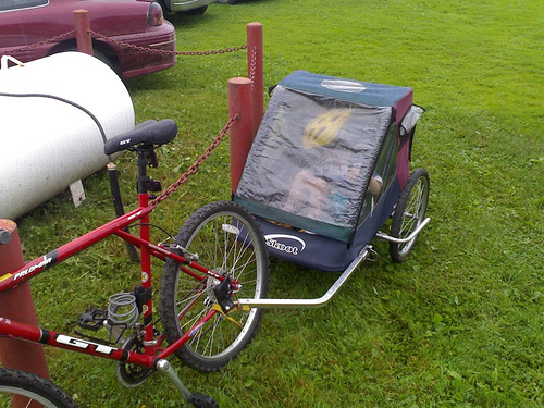 The Bicycle Trailer