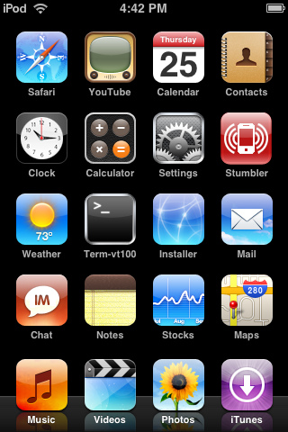 "My iPod Touch ""Desktop"""