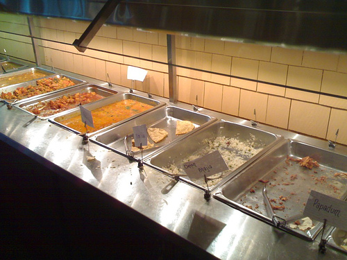 Indian Buffet at Royal Tandoor