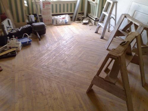 Beautiful Floor inside New Formosa Tea House