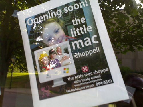 The Little Mac Shoppe is Moving