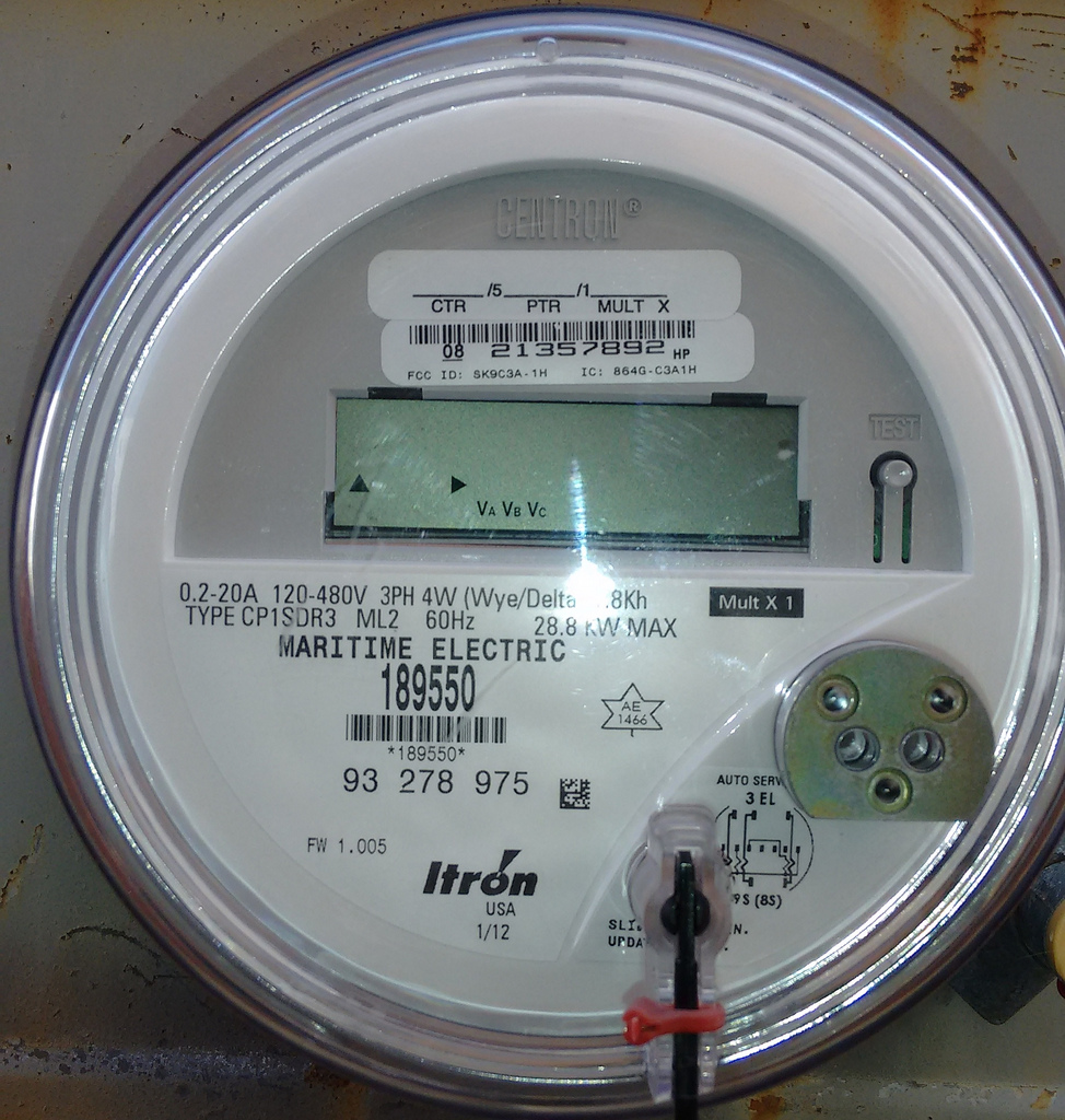 City Hall Electricity Meter