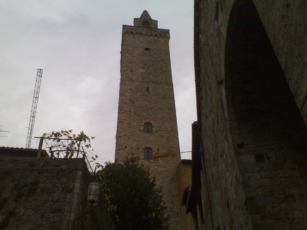 Tallest Tower in San Gimignano