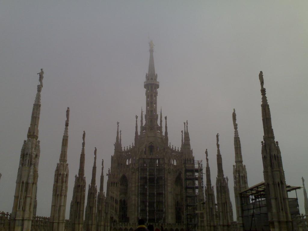 Mist Atop the Duomo