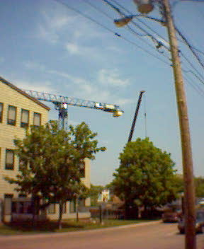 Crane Over Charlottetown