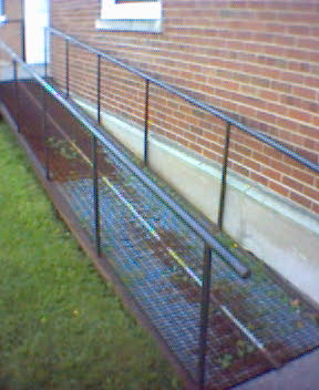 Ramp at Holland College