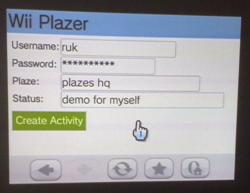 Wii Plazer Alpha