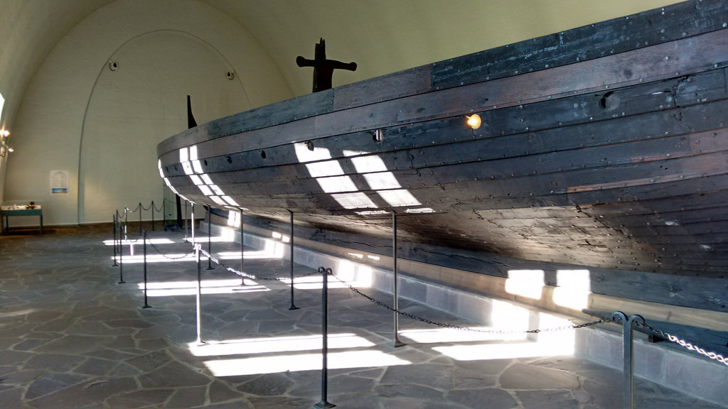 Viking Ship in the Sun
