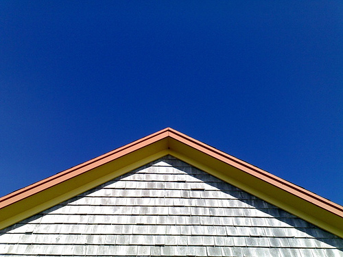 Roof and Sky at La Grave