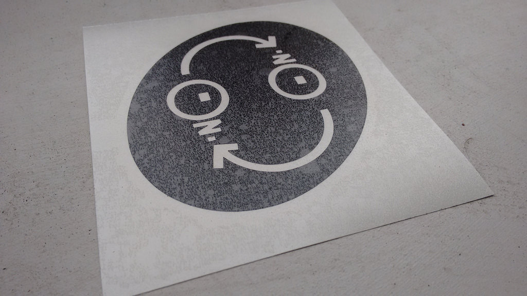 Lumi Vinyl Decal for Reinvented