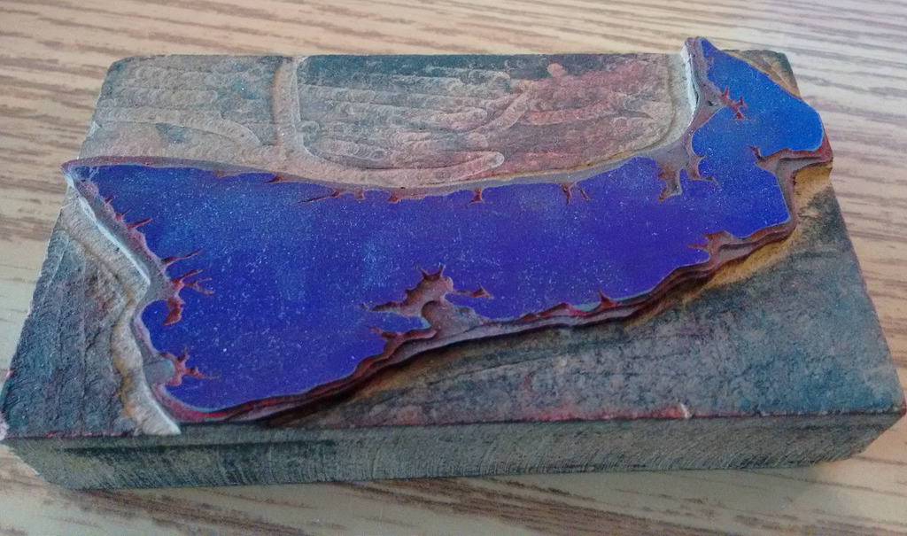 Prince Edward Island Letterpress Cut