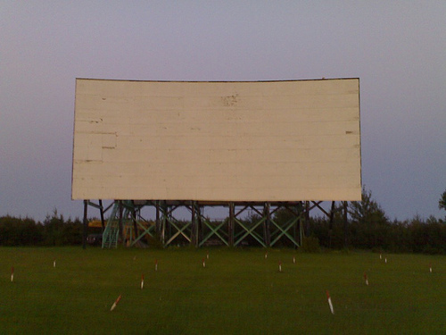 Princess Pat Drive-in Screen