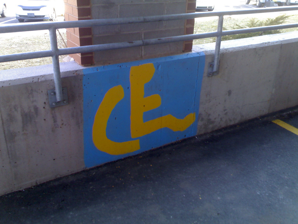The Worst Wheelchair Symbol Rendering Ever