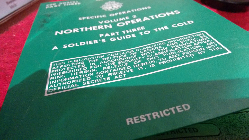 """""""A Soldier's Guide to the Cold"""""""