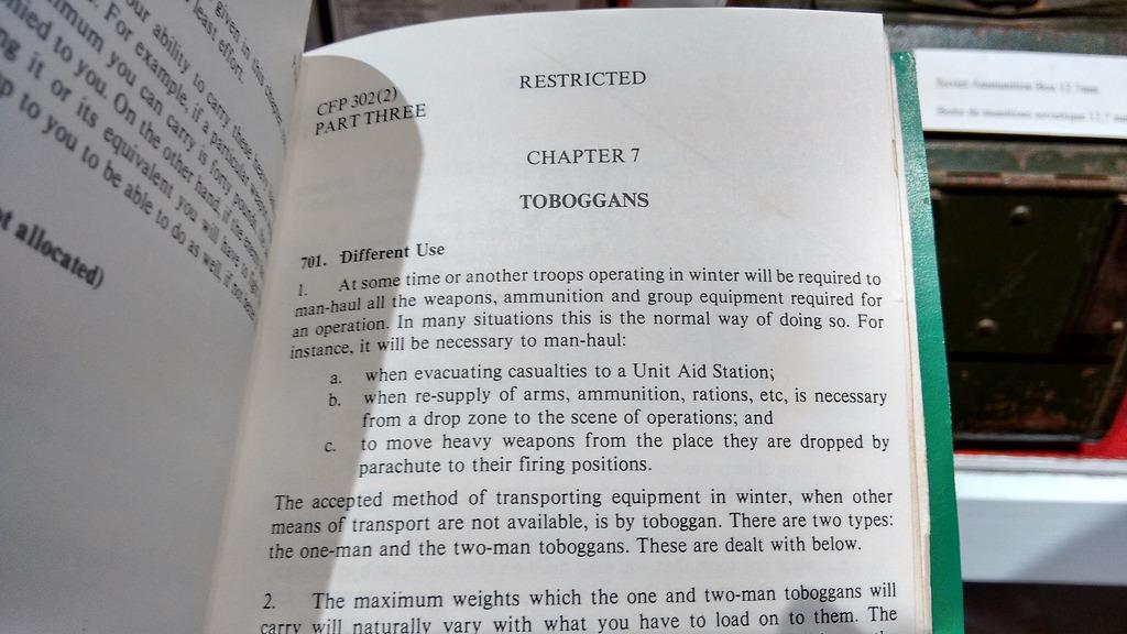 Chapter 7: Toboggans