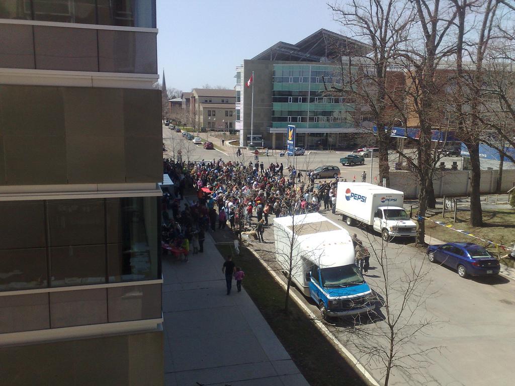 Free Tibet Rally in Charlottetown