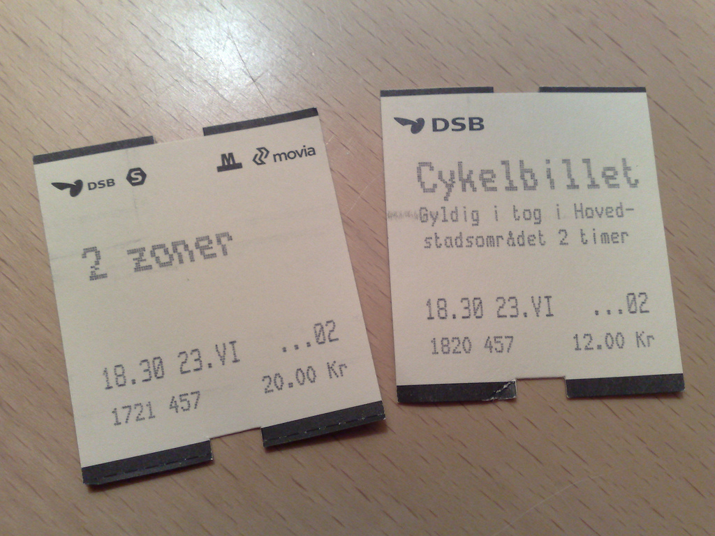 My Bicycle Gets a Train Ticket