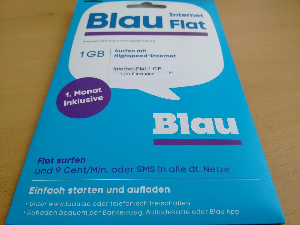 Blau Internet Flat