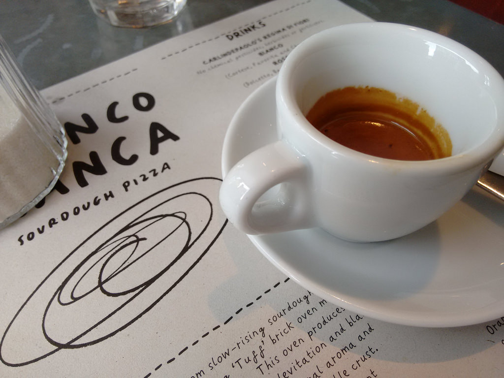 Franco Manca Coffee