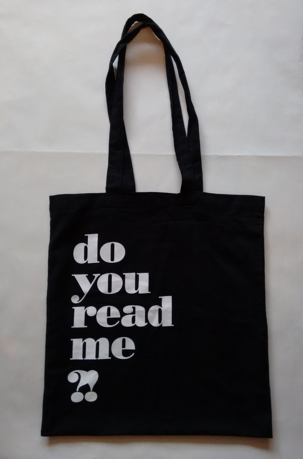 do you read me ?! bag