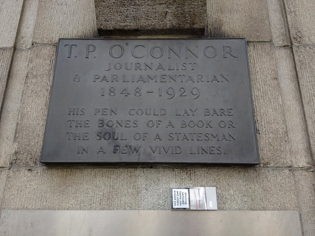 T.P. O'Connor, Journalist