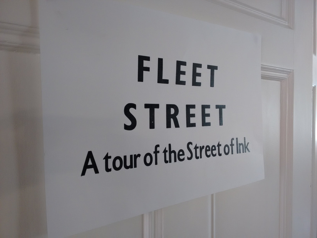 Fleet Street: A tour of the Street of Ink