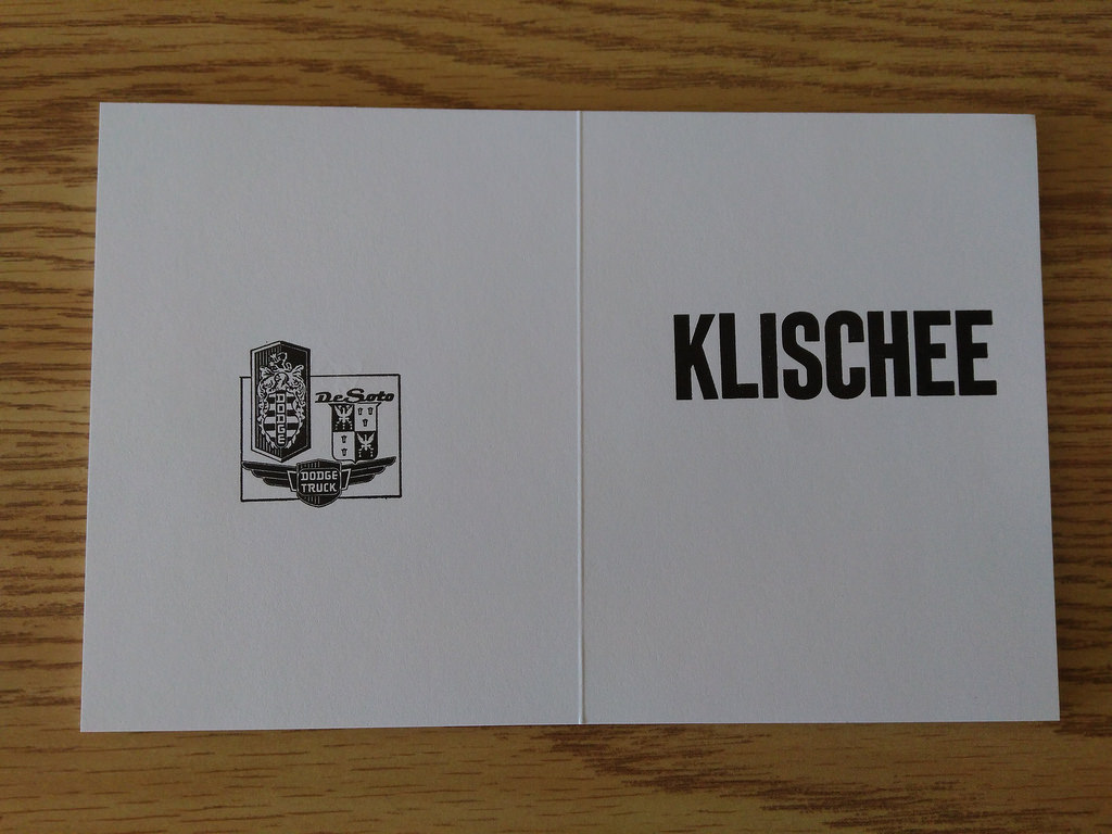 Book of Klischees
