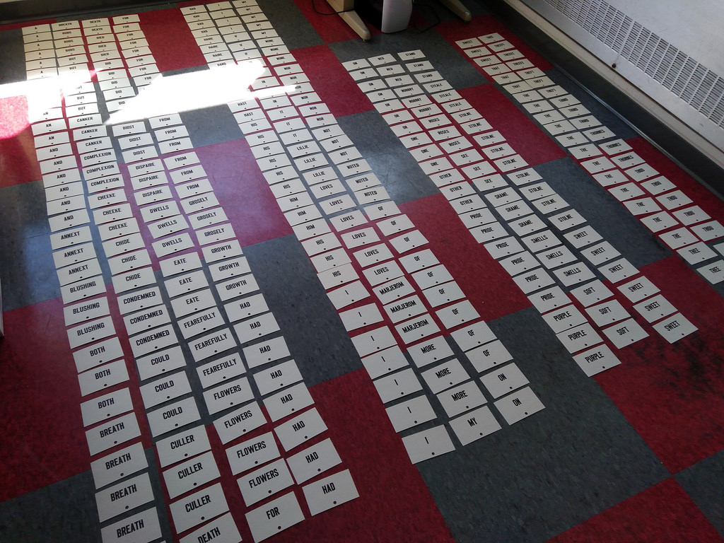 Drying Words