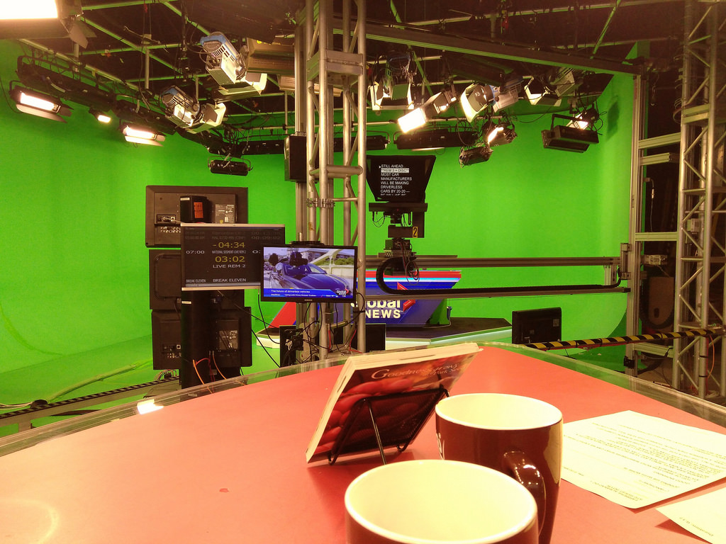 Behind the Scenes at Global News