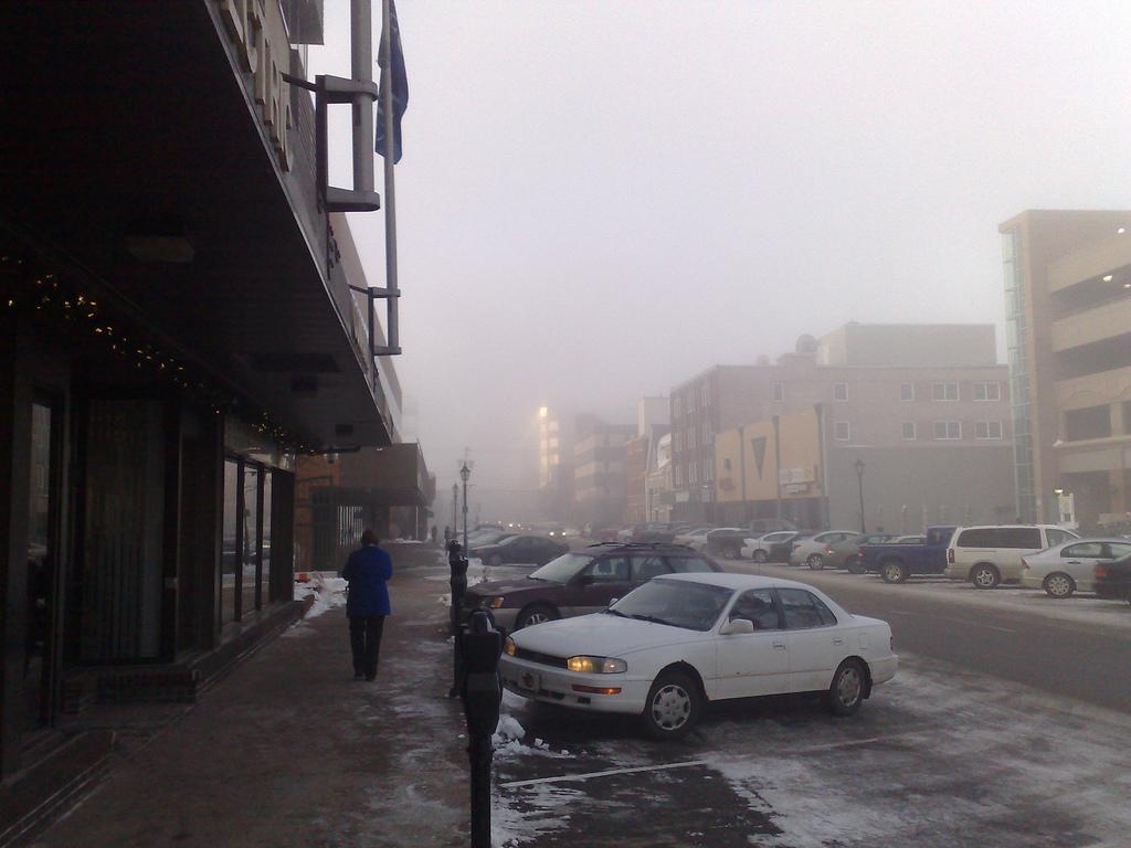 Charlottetown Ice Fog