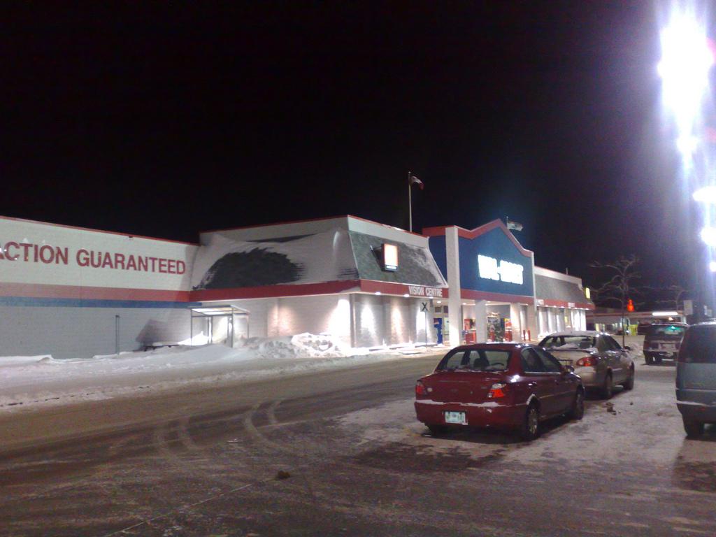 Pre-Dawn Wal-Mart