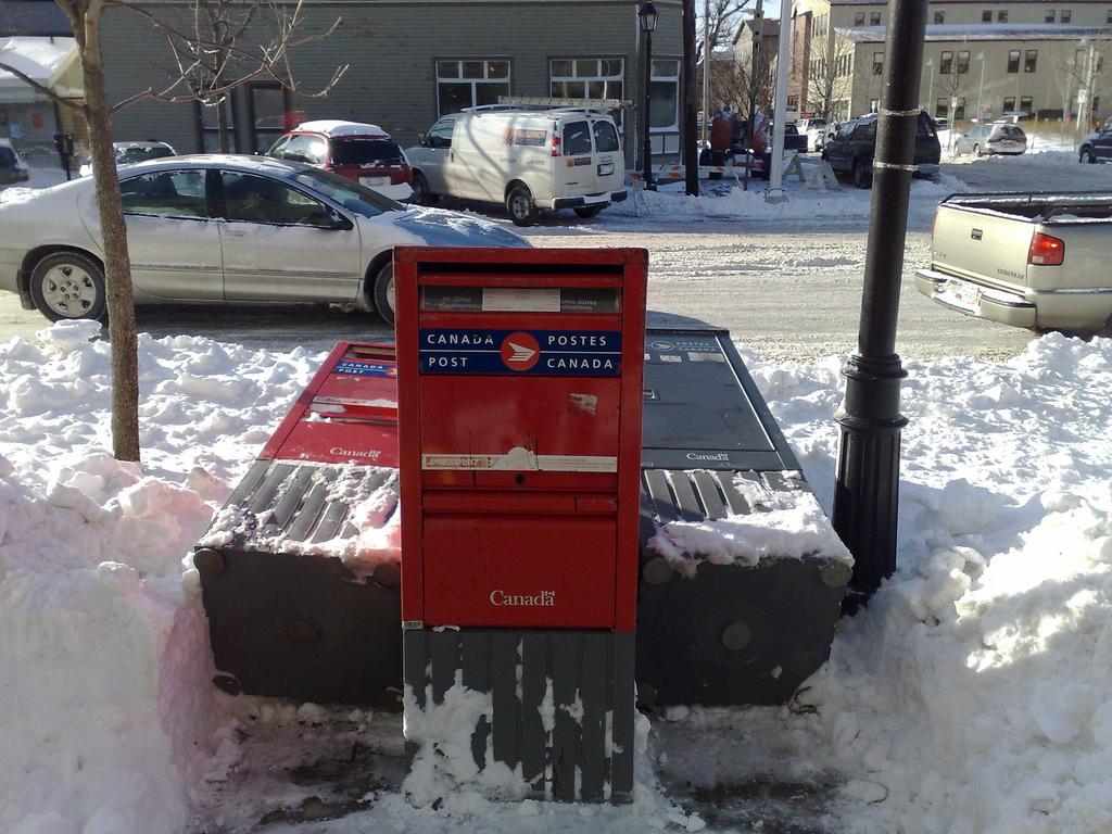 Mailbox Fight