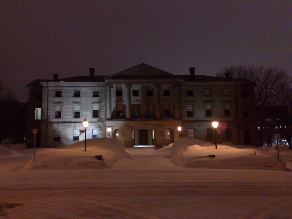 Province House after a Snow
