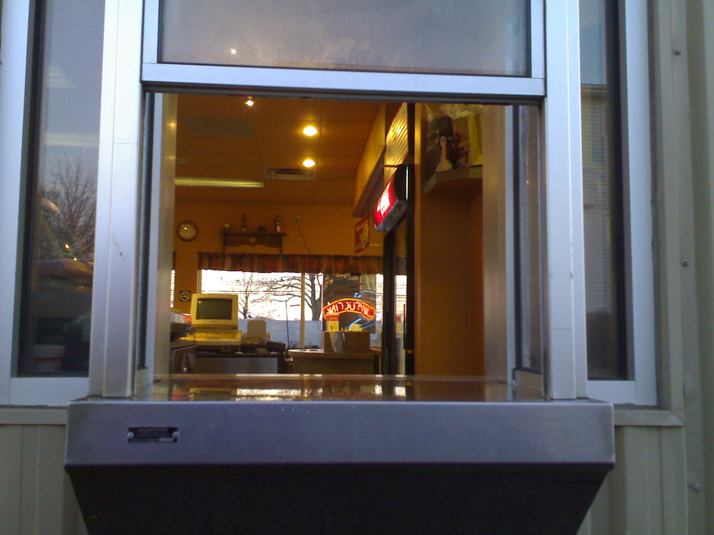 Great Canadian Bagel Drive-thru Window