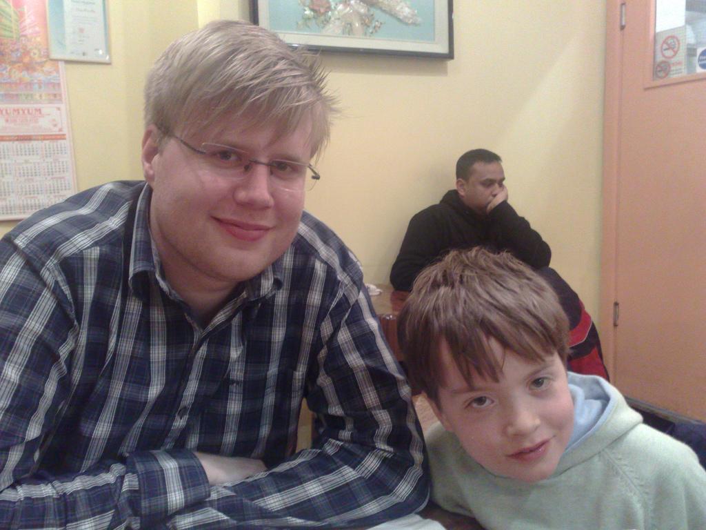Dinner with Jonas