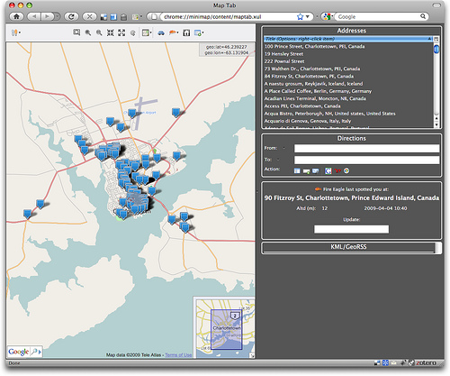 Minimap Map Tab