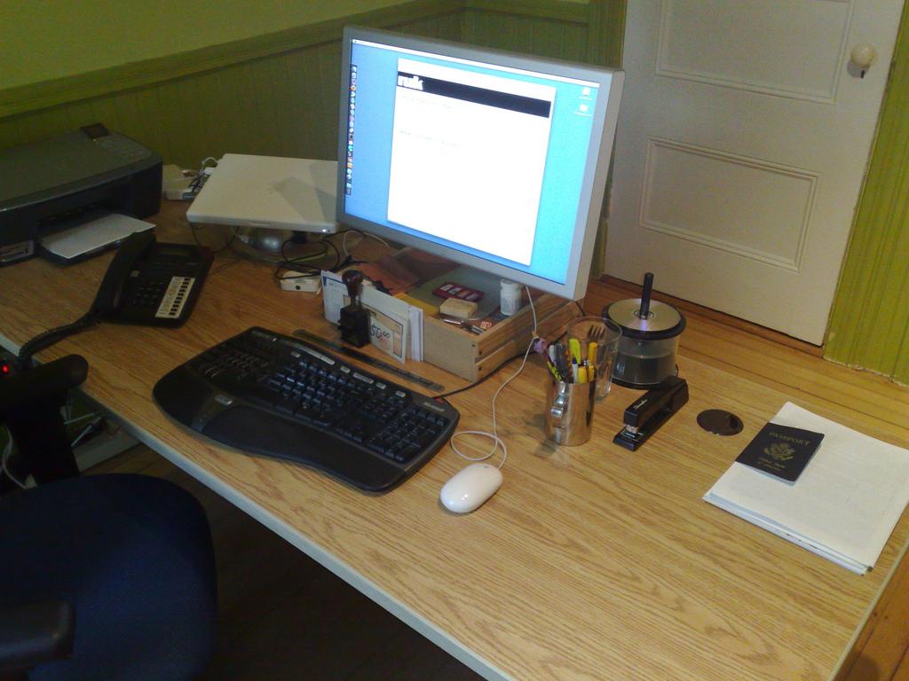 Desk Cleanup: After