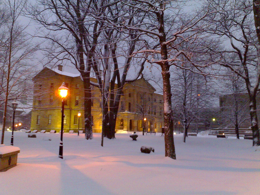 Province House at Sunrise