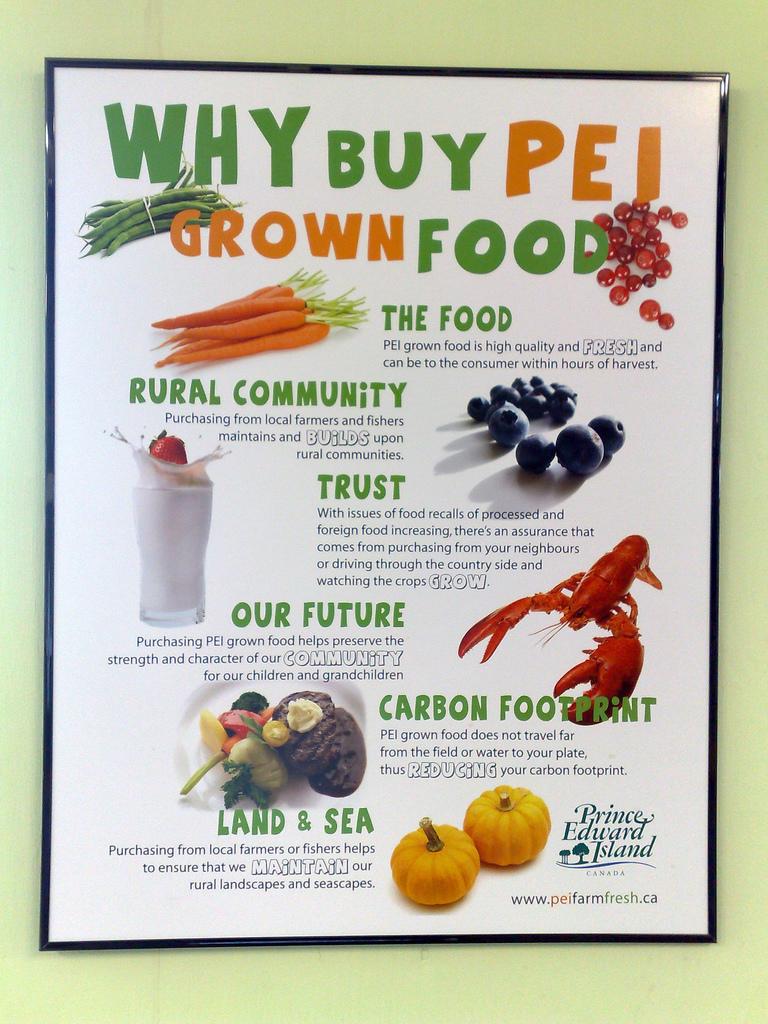 Why Buy PEI Grown Food?