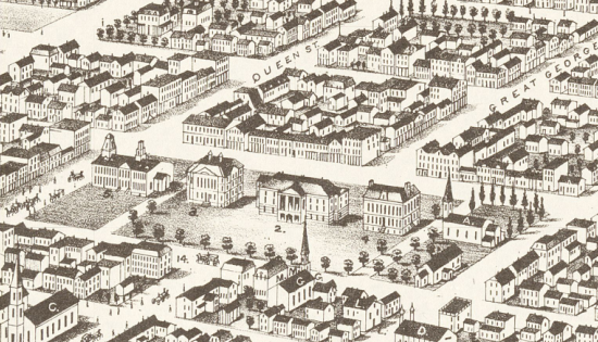 Charlottetown in 1878 (detail)