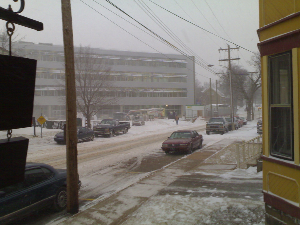 Snow on March 29