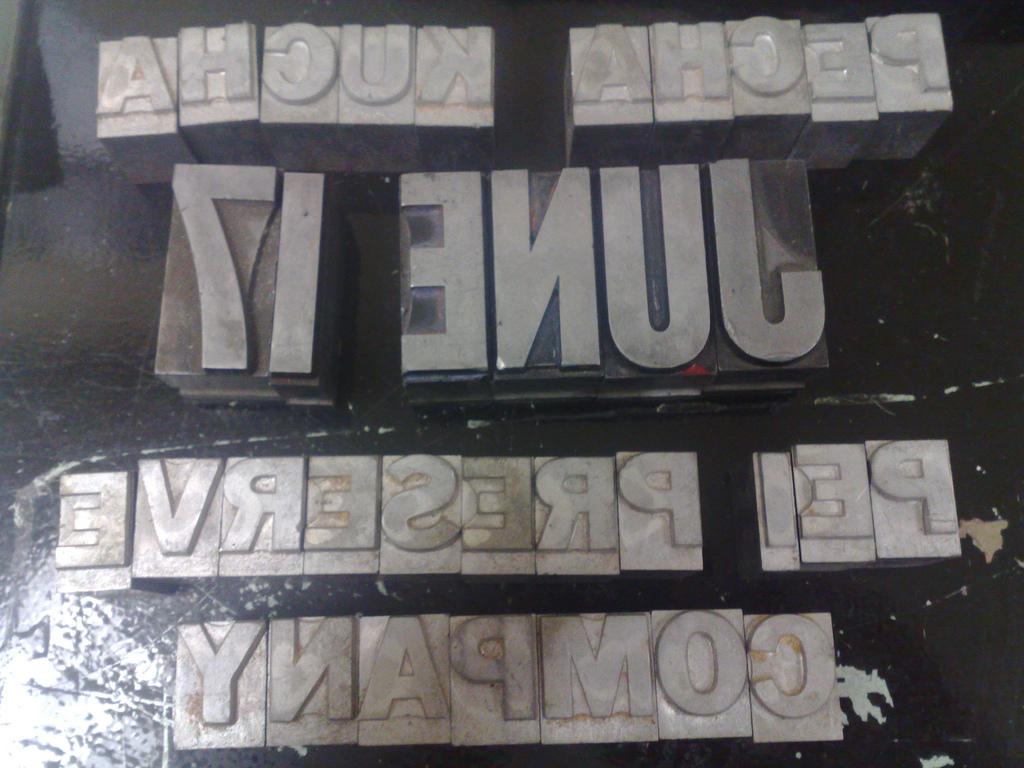 Type for Pecha Kucha Poster