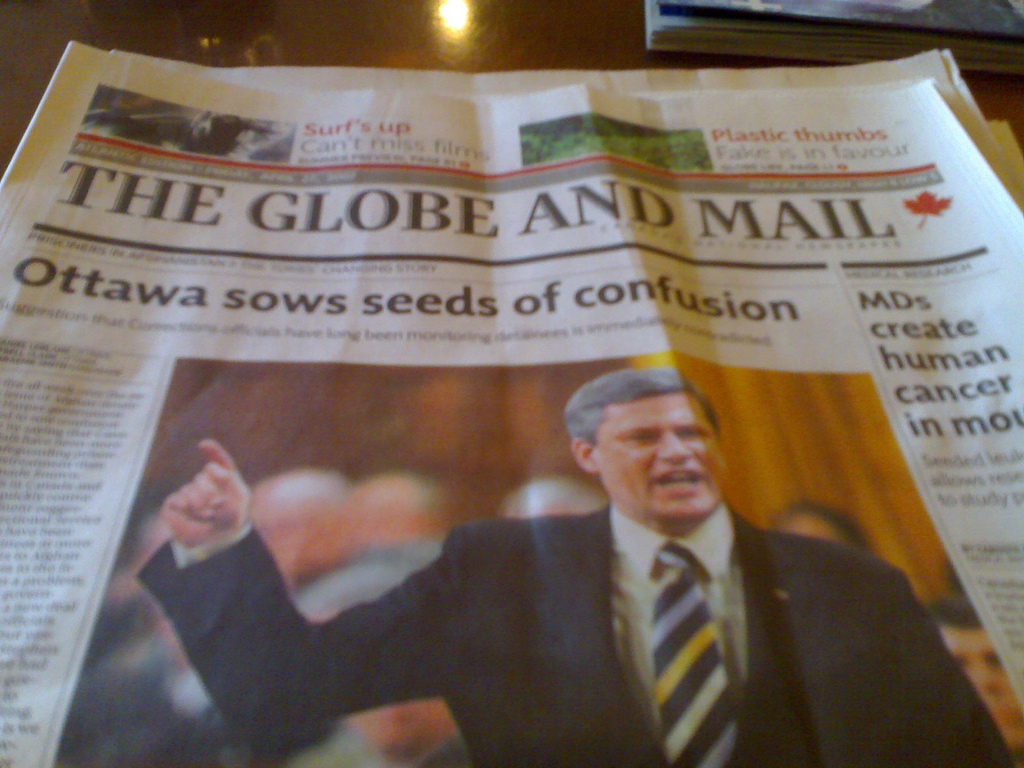 The Globe and Mail's New Design