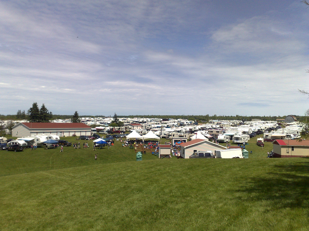 PEI Bluegrass and Old Time Music Festival Grounds