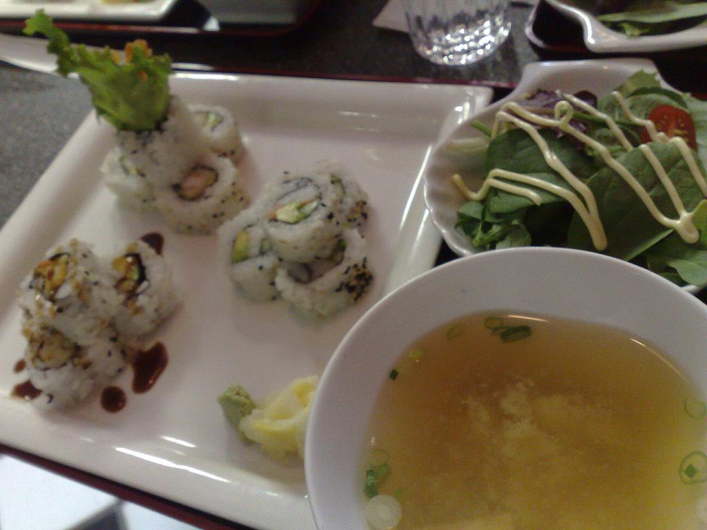 Zen Sushi Lunch