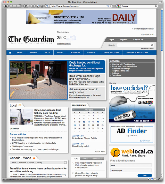 The Guardian: After Redesign