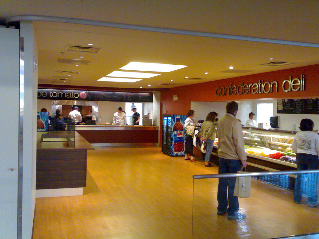 New Food Court: Day One