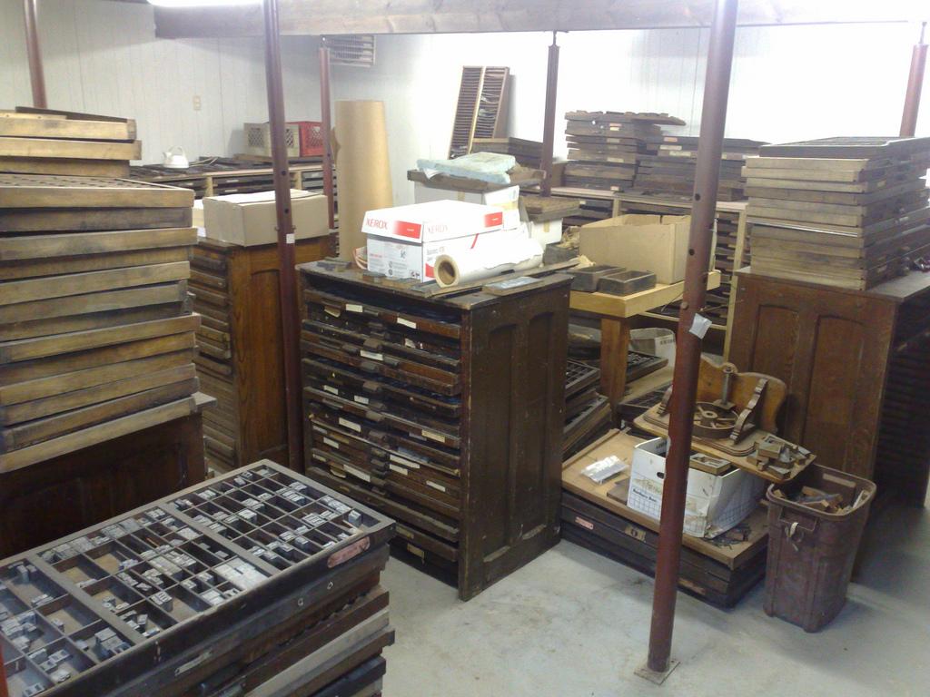 Print Shop Basement
