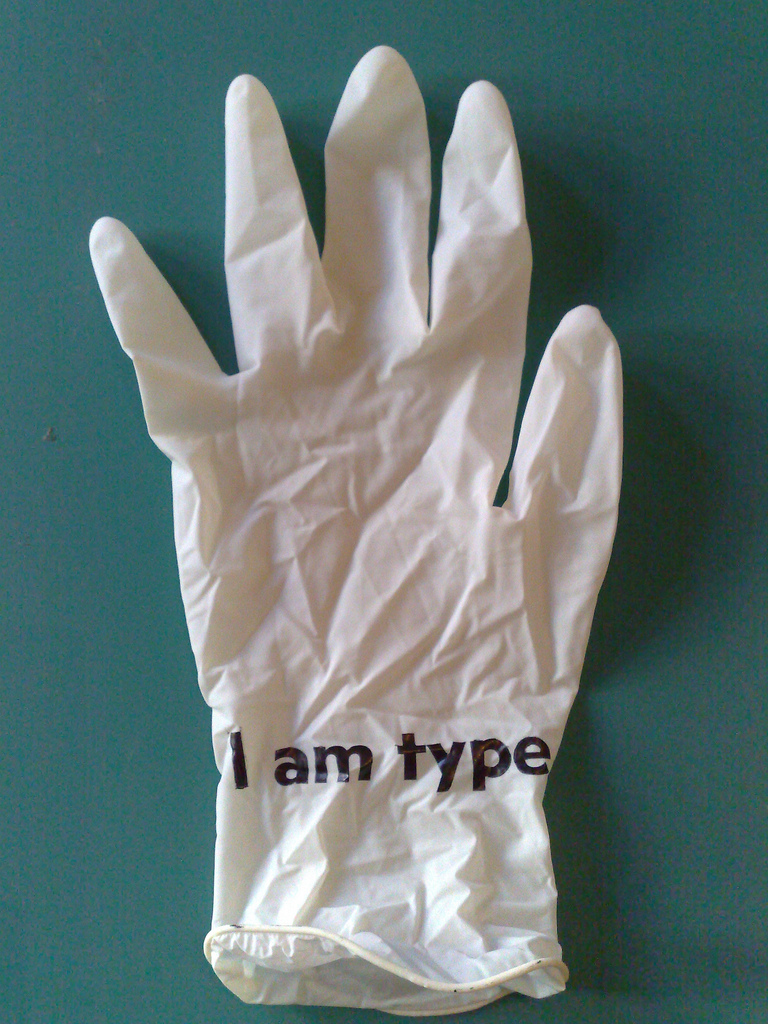 Printing on Rubber Glove