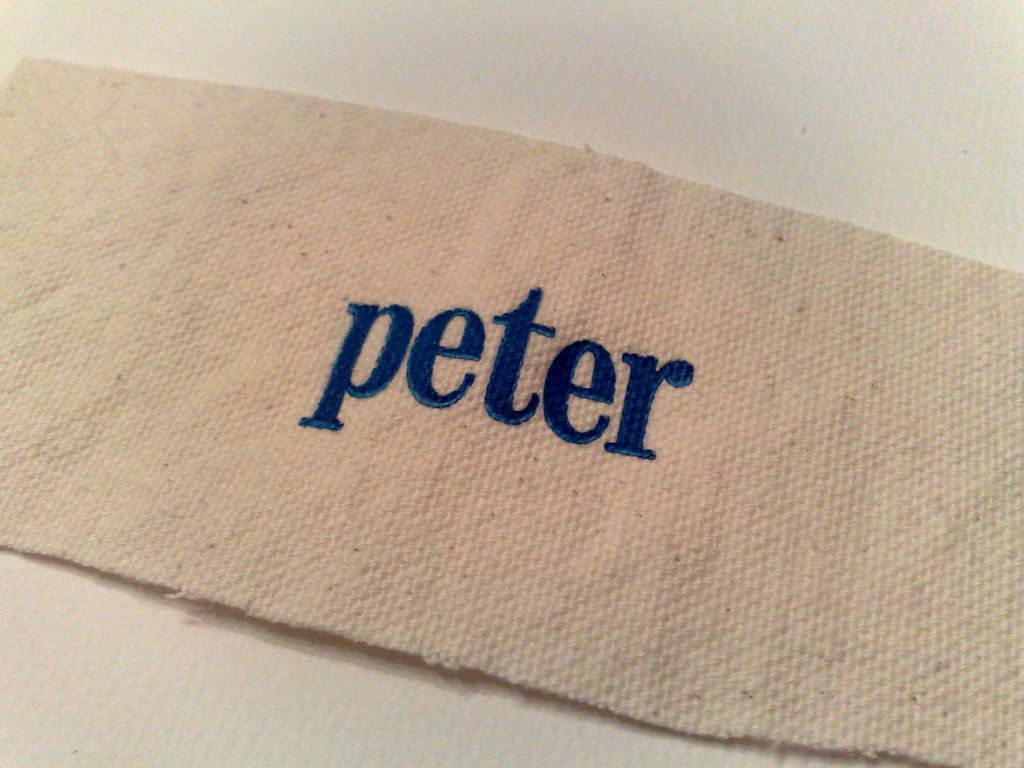 Peter in Blue on Canvas